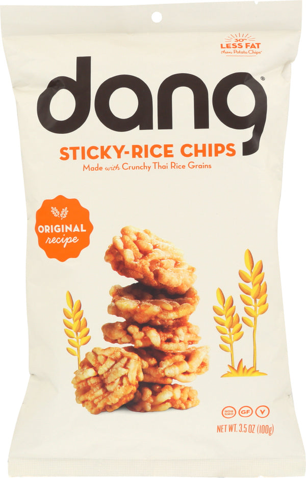 DANG: Original Sticky Rice Chips, 3.5 oz
