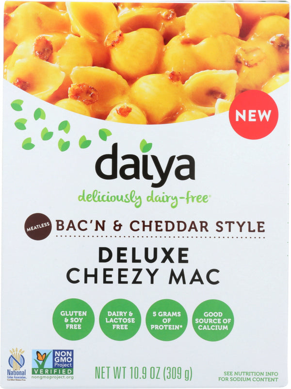 DAIYA: Mac & Cheese Bacon Cheddar, 10.9 oz