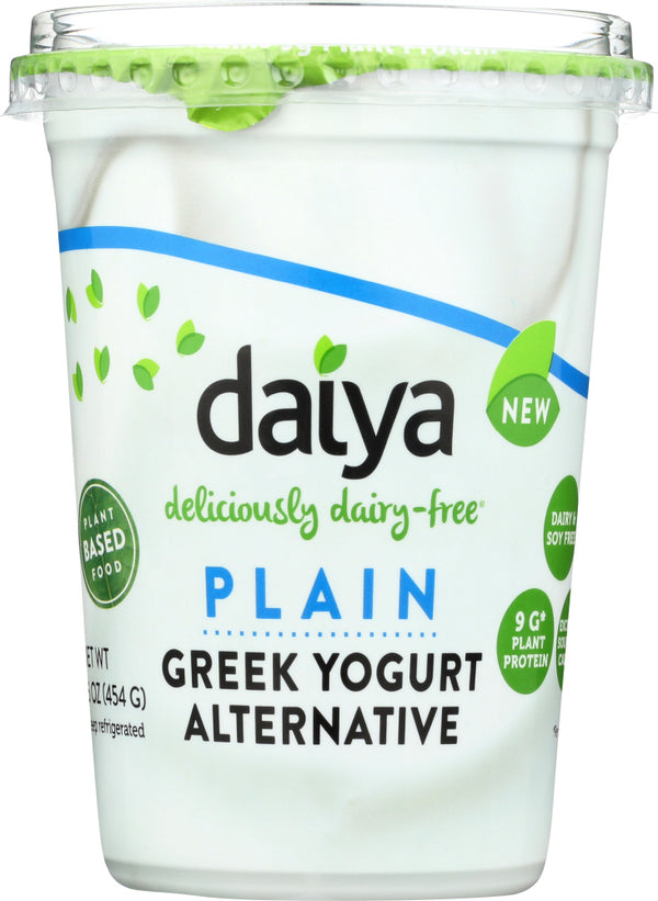 DAIYA: Plain Yogurt Alternative, 16 oz