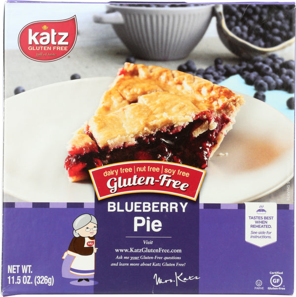 KATZ: Gluten Free Blueberry Pie, 11.5 oz