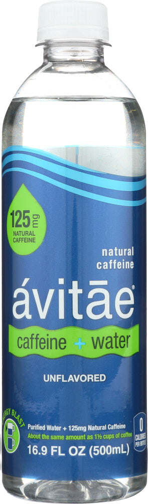 AVITAE: Water Caffeinated 125 mg, 16.9 fo