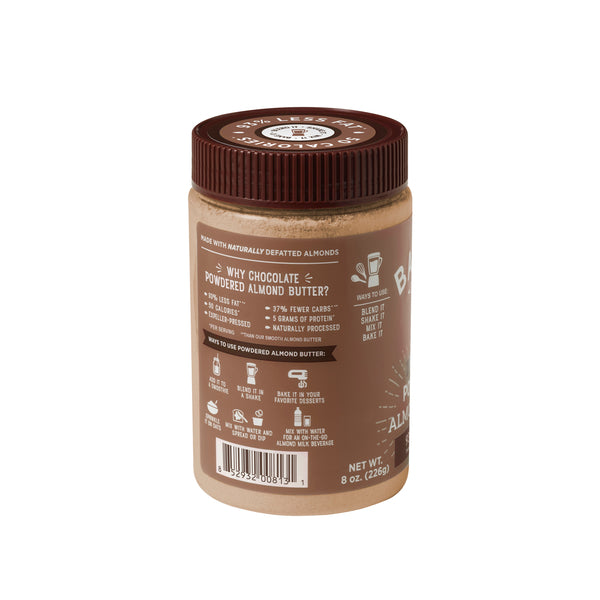 BARNEY BUTTER: Nut Butter Almond Chocolate Powder, 8 oz