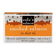 COLES: Salmon Smoked In Olive Oil, 3.2 oz