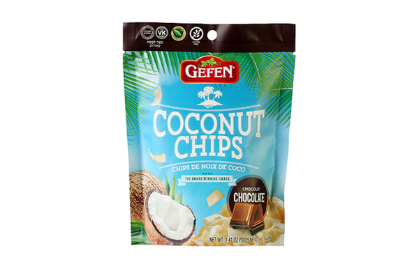 GEFEN: Coconut Chips Chocolate, 1.41 oz