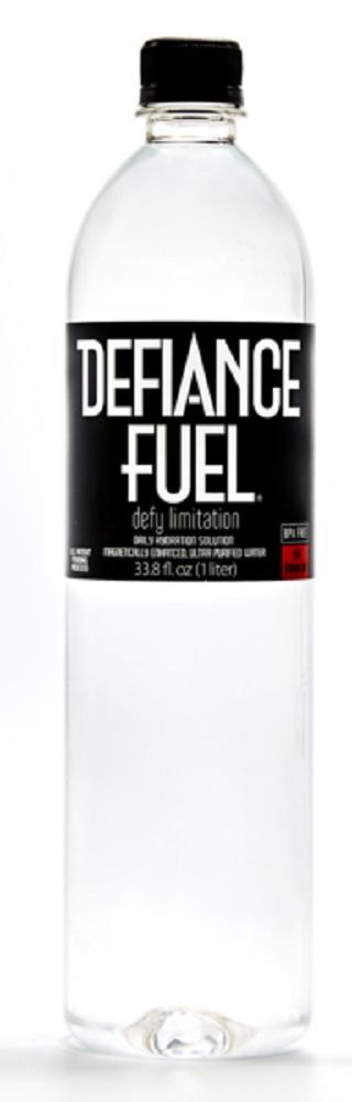 DEFIANCE FUEL: Defy Limitation Water Cellular Hydration, 33.8 fl oz