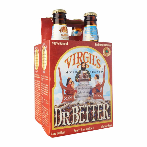 VIRGILS: Dr Better Zero Micro Brew Soda, 48 oz