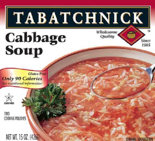 TABATCHNICK: Cabbage Soup, 15 oz