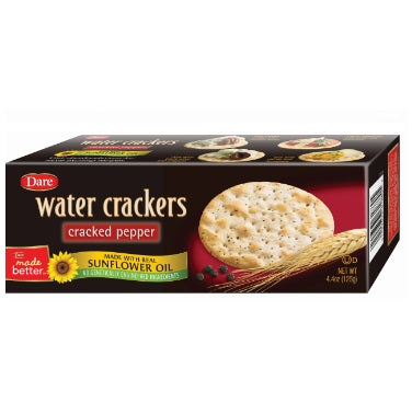 DARE: Cracker Water Cracked Pepper, 4.4 oz