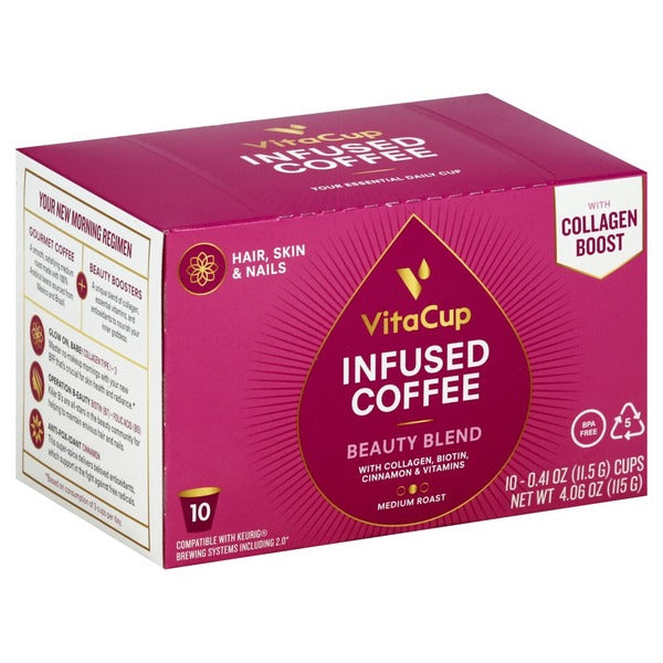 VITACUP: Beauty Blend Infused Coffee Pods, 10 pc