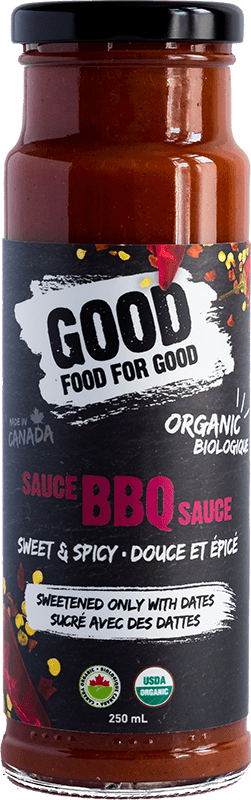 GOOD FOOD FOR GOOD: Sweet And Spicy BBQ Sauce, 9.5 oz