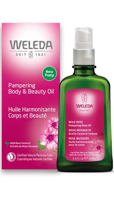WELEDA: Body Oil Wild Rose, 3.4 fo
