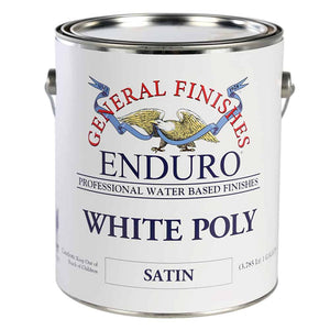 White Poly Satin 5-Gallon