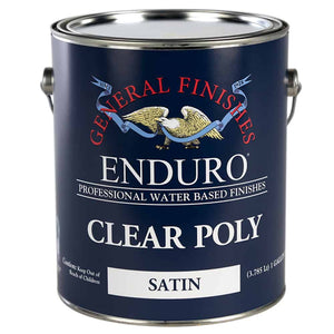Clear Poly Satin 5-Gallon