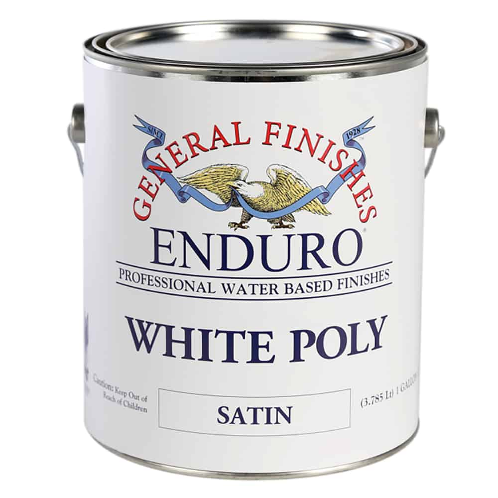 White Poly Semi-Gloss Gallon