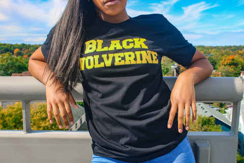 """Black Wolverine"" T-Shirt"