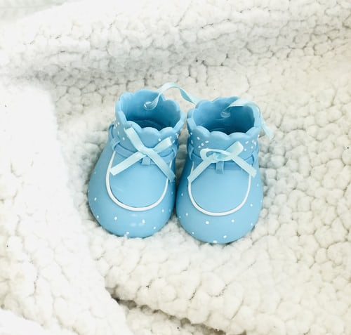 A pair of Baby Shoes in Blue