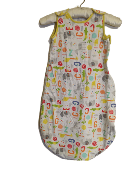 Mothercare Zoo Print Unisex Baby & Toddler Summer Sleeping Bag 1.0 tog - Unisex 6-18m