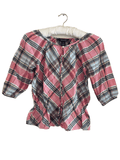 Ralph Lauren Girls Checked 100% Cotton Summer Top - Girls 8yrs