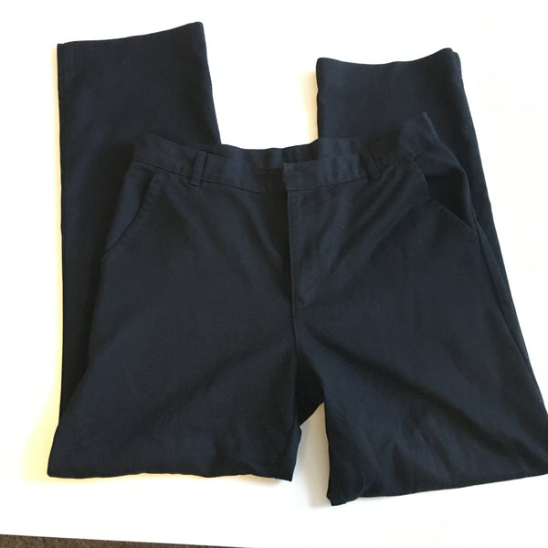 Matalan Boys Black School Trousers with Adjustable Waist - Boys 14yrs