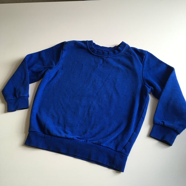 George Royal Blue School Jumper - Unisex 6-7yrs