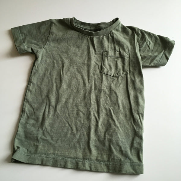 Next Plain Green T-Shirt with Pocket - Boys 18-24m