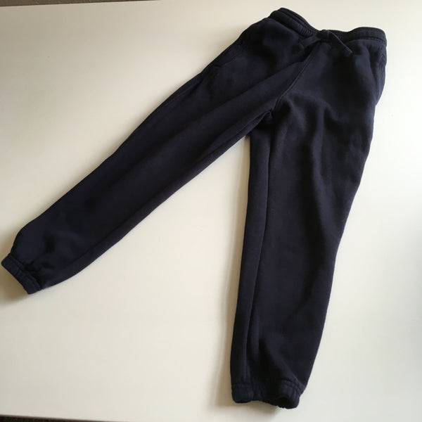 Navy Blue Stretch School Jogging Bottoms - Unisex 6yrs