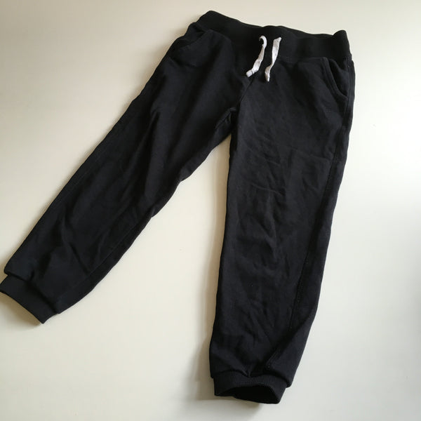 George Black Stretch Jogging Bottoms - Unisex 5-6yrs