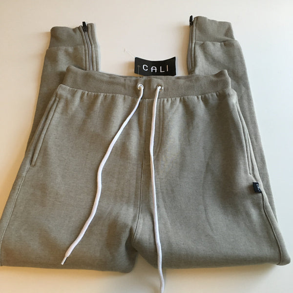 Brand New Light Brown Teen Boys Stretch Joggers - Boys Small