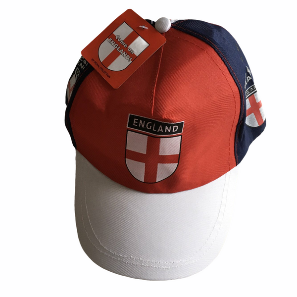 Brand New Come on England Summer Sun Cap Hat - Unisex 58cm Teen