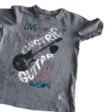 Electric Guitar Grey Boys T Shirt Myleene Klass - Boys 2-3