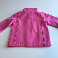 Boulevard Baby Girls Pink Bow Print Zip up Lightweight Jacket - Girls 12m