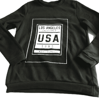 Los Angeles Boys Khaki Green Jumper - Boys 11-12