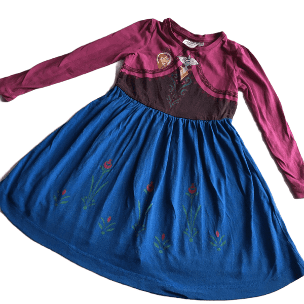 Disney Frozen Elsa Girls L/S Dress - Girls 3-4yrs