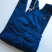 Blue Denim Girls Dungarees - Girls 4-5yrs