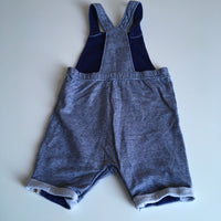 Billie Faiers at George Blue Dungarees - Boys 12-18m