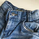 Blue Stonewash Denim Shorts Black Label - Boys 7yrs