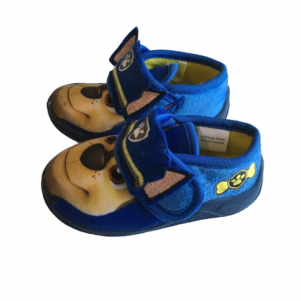 Paw Patrol Toddler Boy's Chase Blue Shoes - Size Infant UK 4