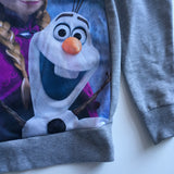 Disney Frozen Girls Grey Lightweight Jumper - Girls 11-12