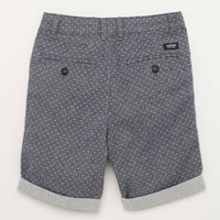 Brand New J by Jasper Conran Boys Blue Textured Shorts with Belt - Boys 7yrs