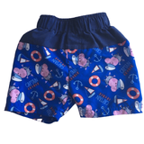 Captain George Peppa Pig Boys Swimming Trunks Shorts - Boys 6-9m