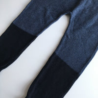Navy and Black Knitted Winter Trousers - Boys 2-3