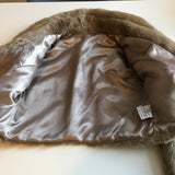 Super soft Girls Light Brown Faux Fur Bolero Jacket - Party/Occasion Wear - Girls 11-12yrs