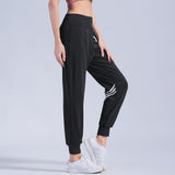Quick Dry Sport Pants Women's Fitness Running Wide Leg Loose Harem Sports Yoga Pants Women's Sweat