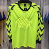 Men's Adult Goalkeeper Uniform Soccer Training Long Sleeve Pants Sponge Protection Goalie Football