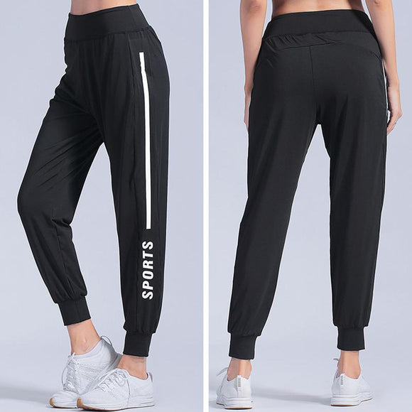 Summer Sports pants Women Fitness Gym Leggings Sweat Pants Jogging Long Trousers Harem Pants