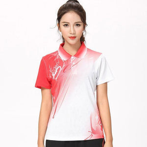 New Badminton shirts Women/Men, sport shirt Tennis shirts , table tennis t-shirt ,  outdoor ladies