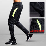 Sports pants Men's Running Pants With Zipper Pockets GYM Football Soccer Training Soccer Pant