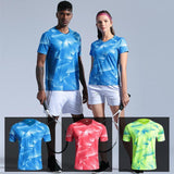 New Tennis shirt Women/Men's sportswear Quick dry Table Tennis shirt Men Breathable Badminton Shirt