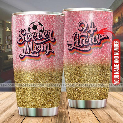 Soccer Mom Tumbler Cups 20 Oz Stainless Steel #0506h