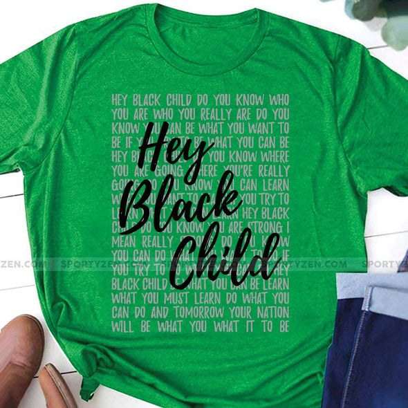 Hey Black Chill T-shirt #66H